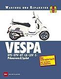 Vespa GTS, GTV, GT, LX, LXV, S, Primavera & Sprint: Wartung und Reparatur