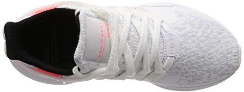 adidas Equipment Support ADV, Scarpe da Ginnastica Basse Uomo crystal white-running white-turbo