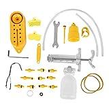 VGEBY1 Fahrrad Entlüftungswerkzeug, Fahrrad Hydraulische Mineralscheibenbremse Entlüftungskit