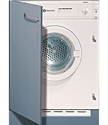 White Knight c43aw Integrated Front Load 6�kg C White���Tumble Dryer (Built-in, Front Loading, Evacuation, White, Buttons, Rotary, Right)