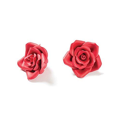 Decora Paquet 8 Rose Petite Rouge 65 g