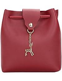 dbaa64536d452 Amazon.es  bolsos fiesta - Rojo   Bolsos mochila   Bolsos para mujer ...
