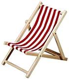 Beluga 30513 - Liegestuhl, gestreift, sortiert, für Kinder bis 6 Jahre