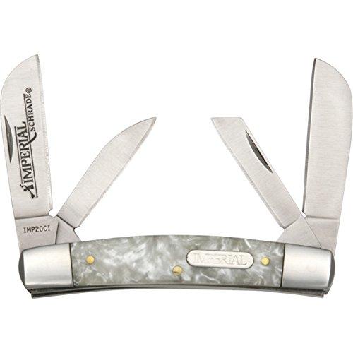 Imperial Schrade imp20ci, Couteau de Poche – Adulte Unisexe, Argent, Taille Unique