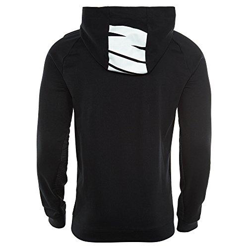 Nike Herren M Nsw Advance 15 Hoodie Po Fleece Kapuzenpullover Schwarz/Dunkel Grau/Weiß