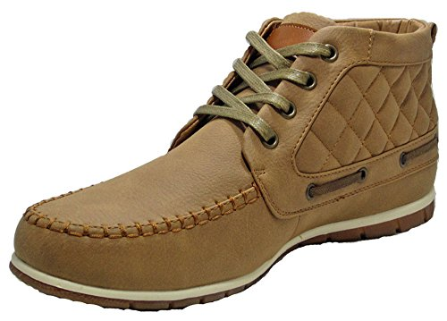 YourDezire , Chaussons montants homme Marron - Camel