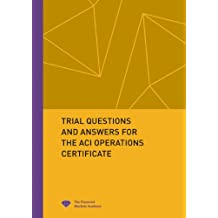 Amazon lex van der wielen books 200 trial questions and answers for the aci operations certificate yadclub Image collections