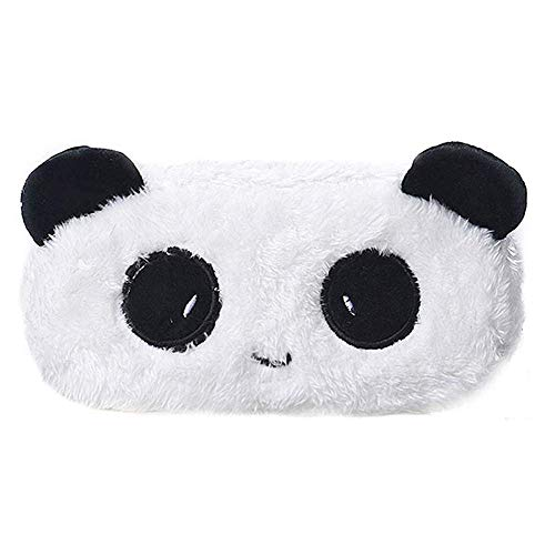 Novelty Lovely Soft Plush Panda Pencil Pen Case Cosmetic Makeup Bag Pouch Durable and Practical