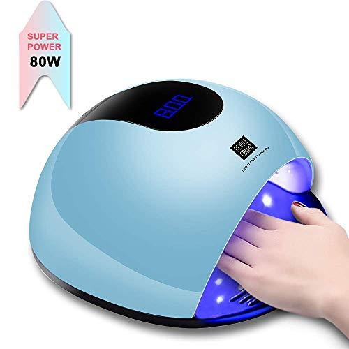 UV Lámpara Secador Uñas Secador Uñas 80W Con 36UV