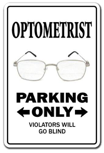 SignMission augenoptikerin Parking Eye Dr Gläser Doctor Kontaktlinsen-| | 50,8cm Hoch