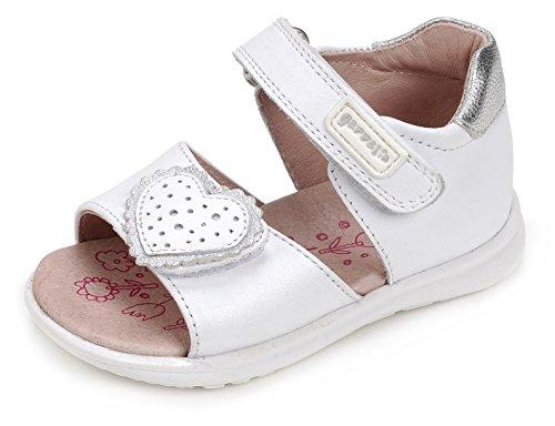 Garvalín 172312, Chaussures Premiers Pas Bébé Garçon Blanc