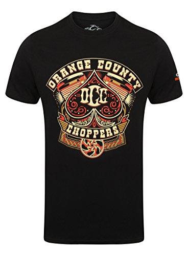 OCC Orange County Choppers T-Shirt Poker Run Black-XXL