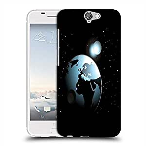 Snoogg background with space in earth Designer Protective Back Case Cover For Asus Zenfone 6