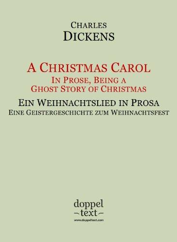 Weihnachtslieder In Englischer Sprache.A Christmas Carol Ein Weihnachtslied In Prosa Zweisprachig