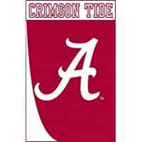 Università di Alabama Crimson Tide Swoosh applique stile giardino dimensioni