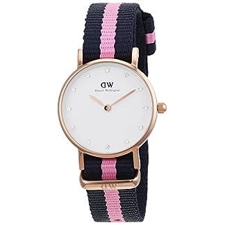 Daniel Wellington 0906DW – Reloj con correa de nylon para mujer