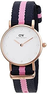 Daniel Wellington Orologio Analogico Quarzo Donna con Cinturino in Nylon 0906DW (B00G2G0JJS) | Amazon price tracker / tracking, Amazon price history charts, Amazon price watches, Amazon price drop alerts