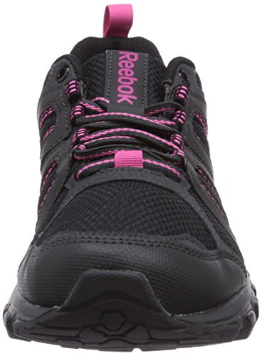 Reebok DMX Ride Comfort RS 2.0 Unisex-Erwachsene Walkingschuhe Schwarz (Black/Gravel/Graphite/Pink/Foggy Grey)