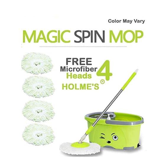 HOLME'S Mop Magic Spin Bucket