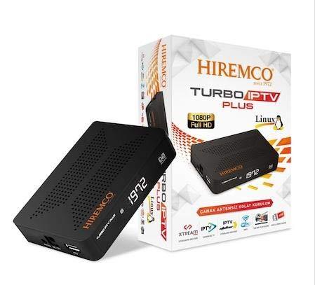 Hiremco Turbo SAT Receiver +IPTV Plus Türkische Deutsche Arabische Russische und weitere Kanäle