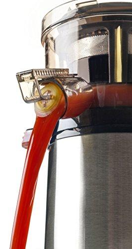 Lacor - 69372 - Slow Juicer - Exprimidor Lento 240 W 1Litro