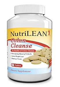 Super Colon Cleanse and Detox Plus Weight Loss Pills - All Natural, Pure, Herbal, Safe, Gentle, Colon Health, Detoxification Program - 60 Tablets - 100% No Hassle Money Back Guarantee If It Doesn't Work for You!