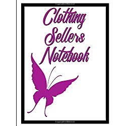 Clothing Sellers Notebook: Composition Style Notebook For Clothing Sellers On Ebay, Poshmark, Mercari And More Version 2