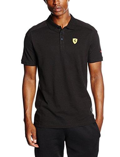 puma-herren-t-shirt-sf-polo-black-l-761982-02