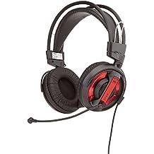 Auriculares para videojuegos, E-3LUE Auriculares COBRA Serie EHS956REAA-NY 3,5 mm estéreo Over-ear profesional con micrófono
