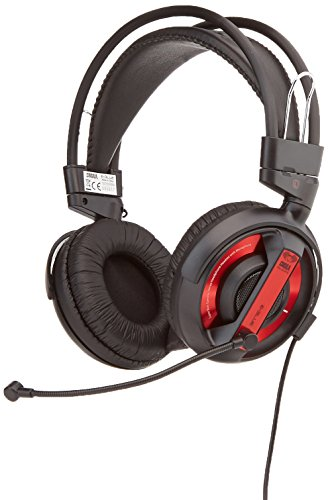 Gaming Headset, E-3LUE Kopfhörer Cobra Serie ehs956reaa-ny 3,5mm Stereo Over-Ear-Profi mit Mikrofon