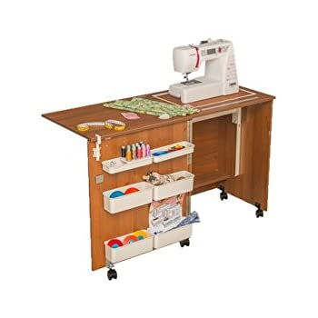 comfort 1 sewing machine cabinet hobby craft table lakeland rh amazon co uk sewing machine desk ikea sewing machine desks for sale