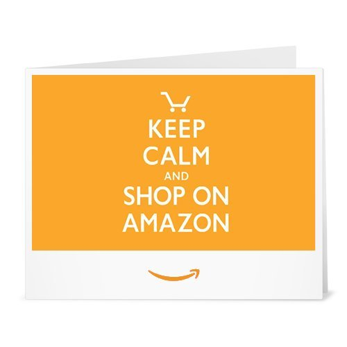 Buono Regalo Amazon.it - Stampa - Keep Calm and Shop On Amazon
