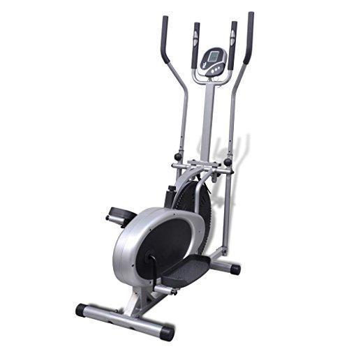 vidaXL Heimtrainer Ergometer Fitness Stepper Walking Ellipsentrainer - 5