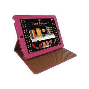Piel Frama U532COP Cinema Case für Apple iPad 2/3/4 fuchsiain Krokodillederoptik