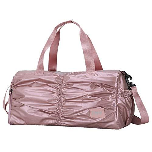 Miles Sail Frauen Fitness Yoga Matte Sporttasche männer Taschen für das Training Reisen als Schulter Sack de Sport gymtas Glitter Sport Sack 2019 xa754wa, rosa - Nike Glitter Frauen