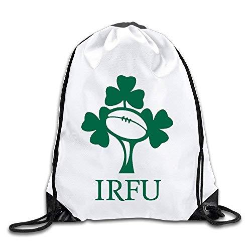 CHSUNHEY Turnbeutel,Sporttaschen,Irish Rugby Eco-Friendly Luggage Drawstring Backpacks/Bags -