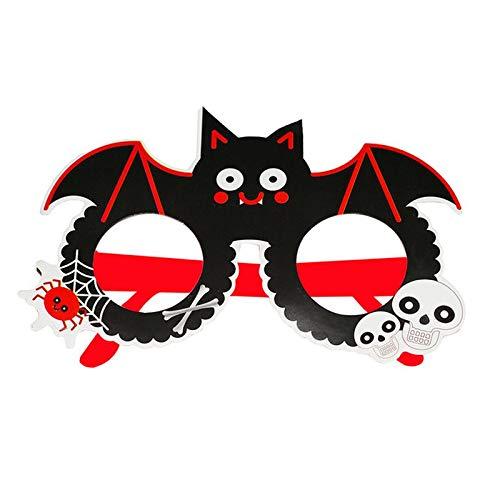 YY1910701 Erwachsene/Kinder Runde Rahmen Gläser Für Halloween Party Kinder Geschenke Dekor Eyewear (Halloween Dekor Gläser)