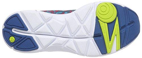 Zumba Footwear Zumba Fly Print, Damen Hallenschuhe, Blau (Tropic Pink/Blue), 40.5 EU (6.5 Damen UK) -