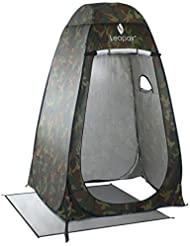 Leapair Pop-up Strand Duschzelt Umkleidezelt Toilettenzelt Privatsphäre Zelte mit Ablagefach und Belüftung