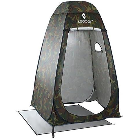 Leapair Tienda de Campaña Tent Abrir Cerrar Automáticamente Pop Up Portable Sirve Para Camping Playa Bosques Zonas de montaña Ducha Aseo Carpas Vestidor