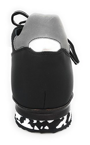 ZERIMAR Scarpe da Uomo con aumentano interni ¡ATTENZIONE OFFERTA SPECIALE 7,5 ANNIVERSARIO! Aumenta + 7 cm Eco pelle-gomatto cm Genuina Scarpe di pelle 100% Naturale Nero