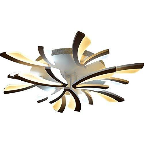 9 Flush-mount (LED Acryl Panel Modern Style Flush Mount Light Ceiling, Light Pendant, Ceiling Lights, Weiß (mit 9 Light White))