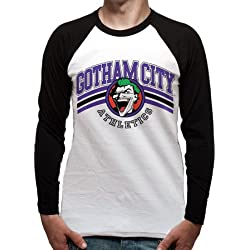 Team Joker Camiseta, Hombre, Multicolor, L