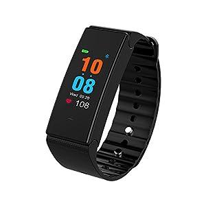 41gXVpr6 tL. SS300  - DW&HX Fitness Tracker,Smart Bracelet Watch Blood Pressure Monitor Smart Bracelet Heart Rate Monitor Sport Pedometer Waterproof