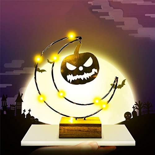 Mitlfuny Halloween coustems Kürbis Hexe Cosplay Gast Ghost Schicke Party Halloween deko,Halloween Urlaub Lichter Mond Pendelleuchten Kürbis Lichter Led Lichter (Happy Cloud Kostüm)