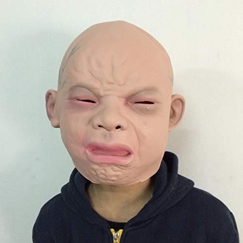 BANYANN Halloween Cosplay DekorWeinende Baby Gesicht Latex Maske für Cosplay / Maske Festival / / Dance ()