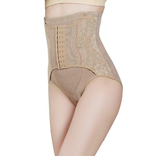Control Panty Plus (Fzmix Hipster Women's High Waist Body Shaper Brief Underwear Tummy Control Panties Shapewear)
