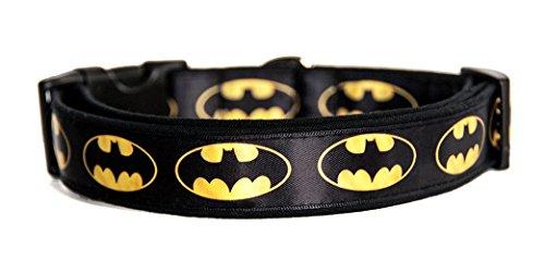 DC Comics Hundehalsband Handgemachte Größe M Ohne Hundeleine Dog Collar Handmade ()