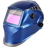 FIXKIT Careta de Soldar de Oscurecimiento Automático Casco Soldadura Máscara Soldadores para Soldar de Energía Solar