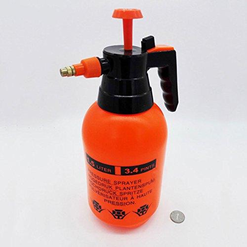 Sedeta® 1,5 L Autowäscher Hand-Druck Hand Pump Sprüher Flasche Druck Sprühflasche (Hand-druck-sprüher)